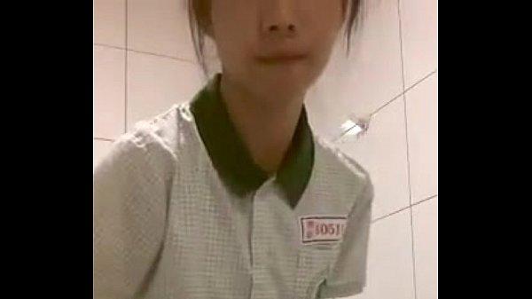 หลุดหนักงานสาวร้านโดนัทตั้งกล้องเต้นโชว์นมสวยจริงๆ ครับ จัดหนักอย่าให้เสียน่ารักขนาดนี้