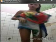 โชว์หน้ากล้อง แคมฟอก อาบน้ำ หุ่นดี คลิปโป๊