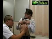 แหย่หีเด็ก หมอตรวจภายใน นักเรียนสาว คลิปปโป๊ญี่ปุ่น ขยำนม