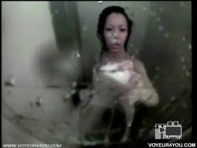 แอบถ่ายสาวอาบน้ำ หัวนมชมพู สาวเงี่ยน ช่วยตัวเอง ขยำนม
